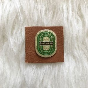 '80s / Heineken Pin